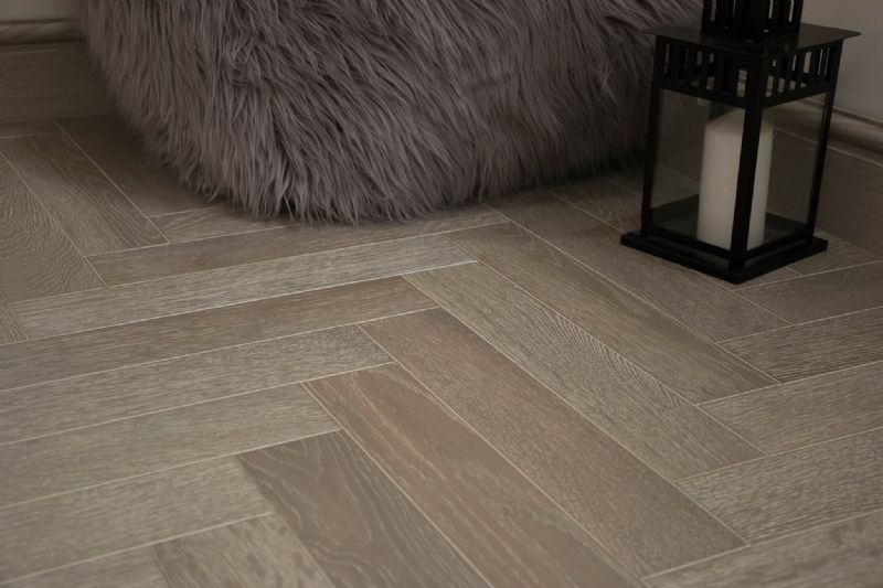 Slate Grey Herringbone 90
